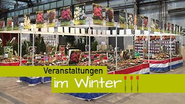 Lemo Gartendesign | Veranstaltungen Winter | Messestand innen