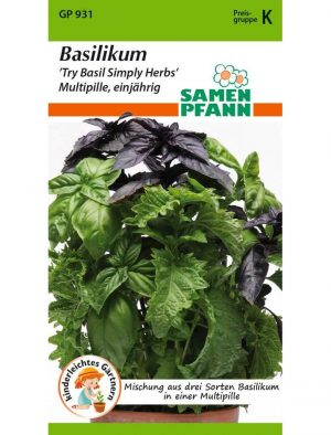 Baislikum Mix - Try Basil Simply Herbs