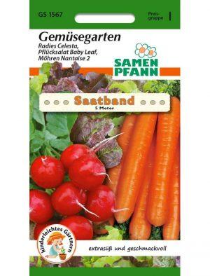 Saatband Gemüsegarten