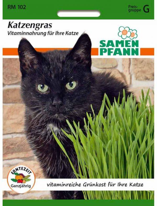 Katzengras Vitaminnahrung für Ihre Katze
