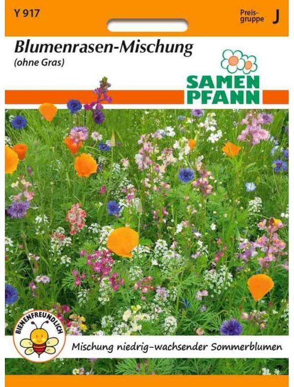 Blumenrasenmischung (ohne Gras)
