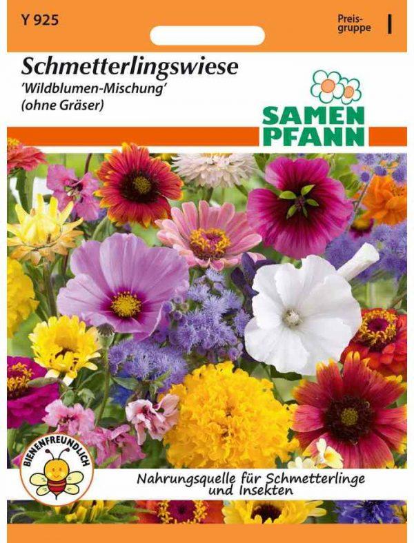 """Schmetterlingswiese """"Wildblumen-Mischung"""" (ohne Gräßer)"""